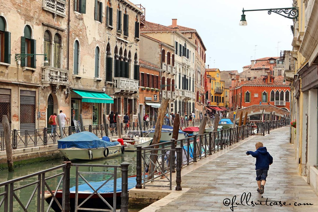 Exploring Venice with young children