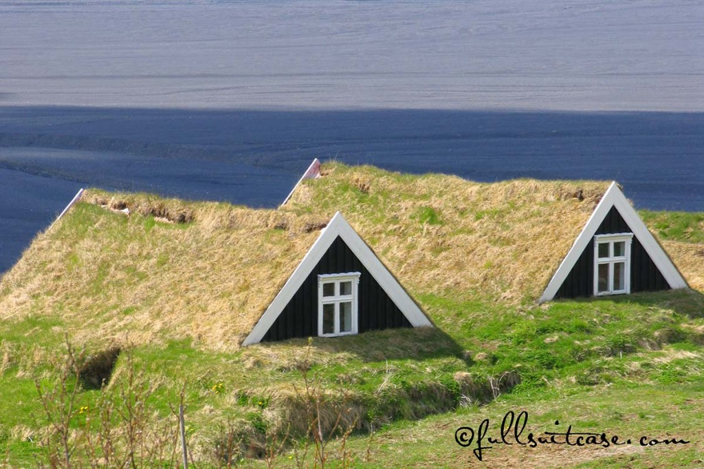 Turf Houses in Southern Iceland