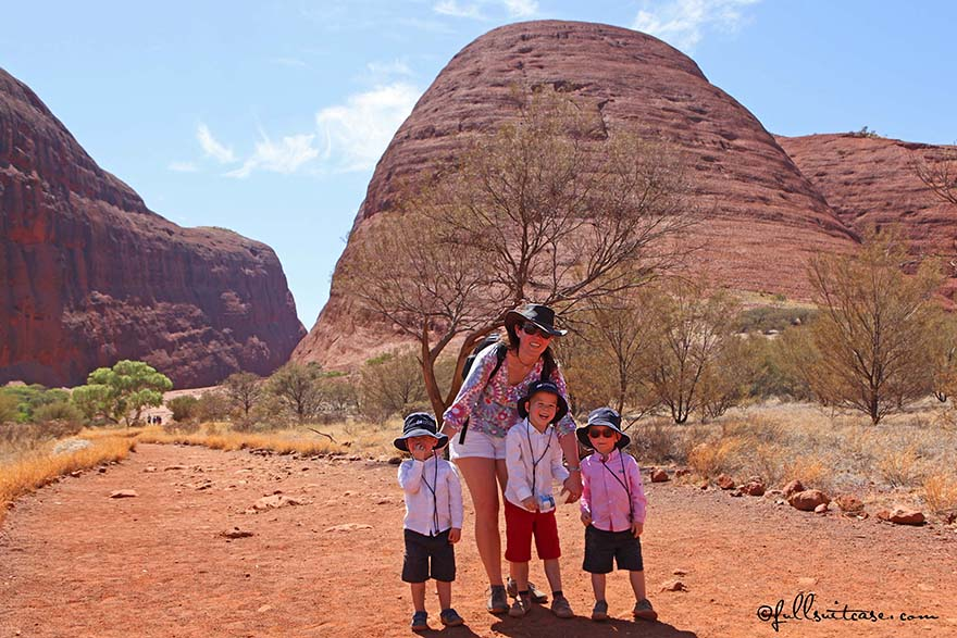 traveling with young children to Australian outback