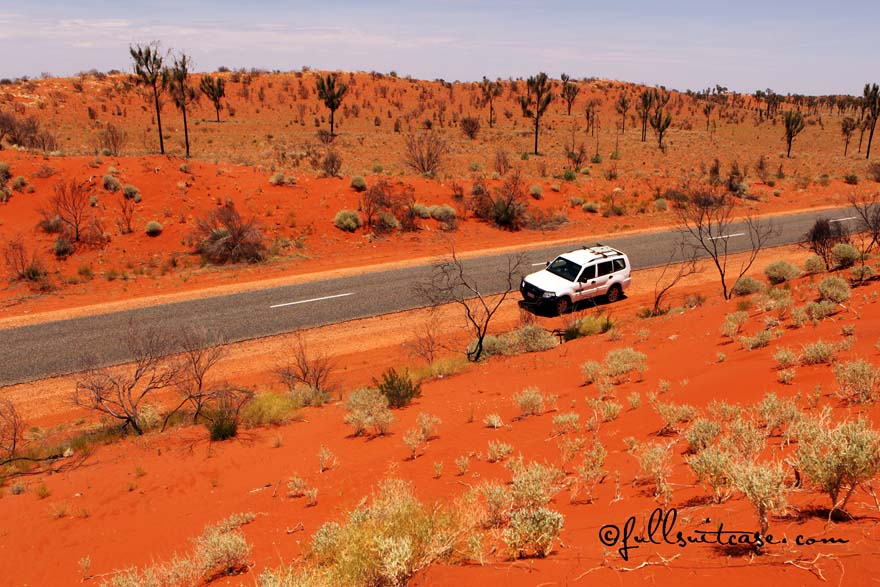 Australian outback road trip
