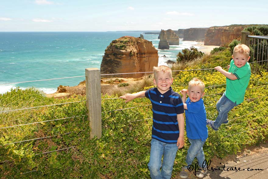 Great Ocean Road in Southern Australia