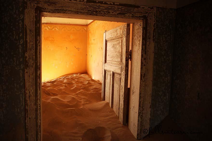 Kolmanskoppe ghost town near Luderitz in Namibia
