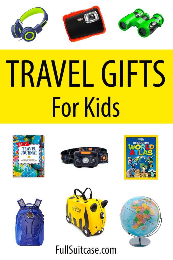 Cool travel inspired gifts for children