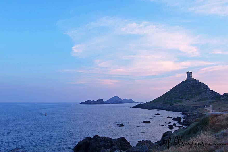 Iles Sanguinaires Ajaccio Corsica