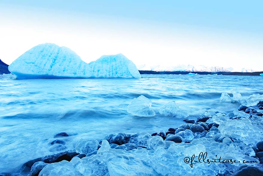 Fjallsarlon glacier lagoon is one of the must see places in Iceland