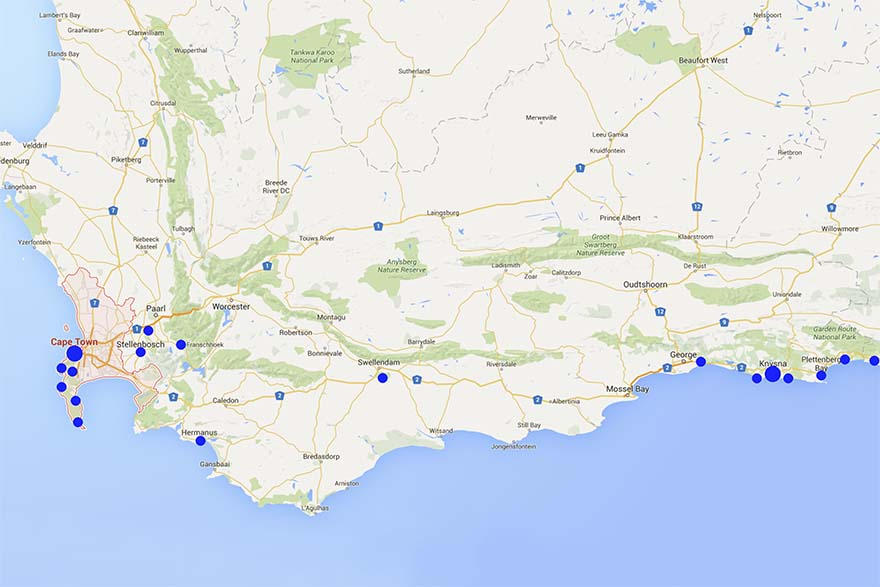 South Africa family trip itinerary Cape Town and Garden Route