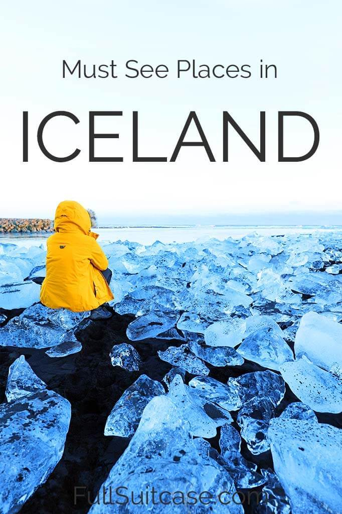 10 places you must see in Iceland. Don't miss!