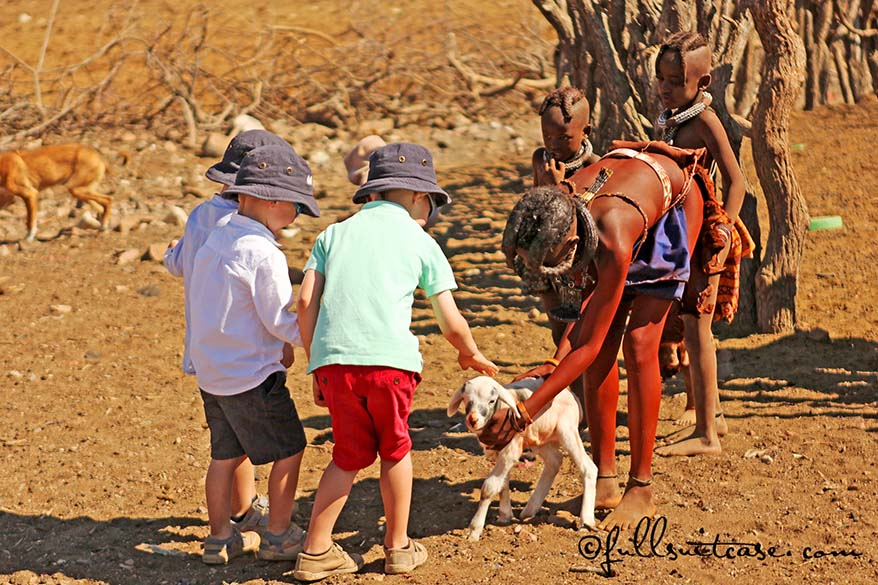 Namibia is a perfect place to interact with many different cultures and people