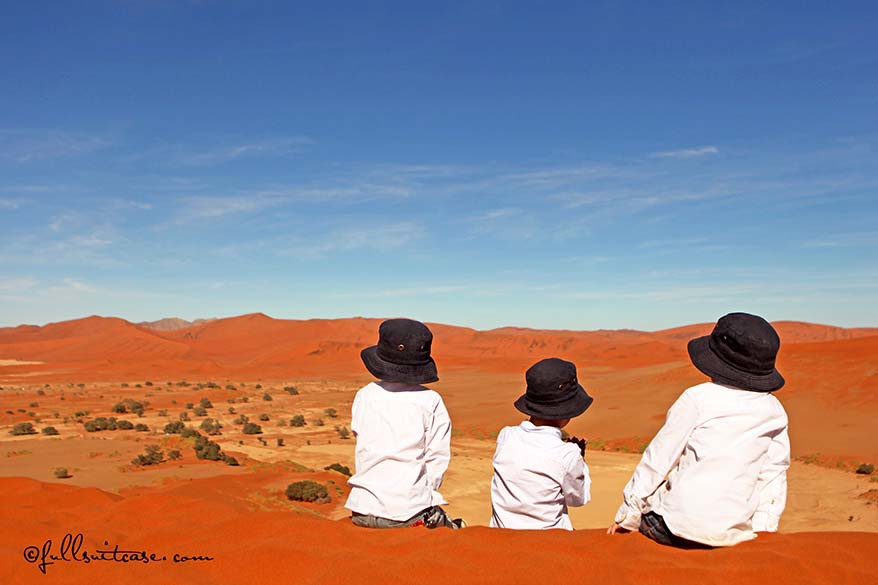 Namibia with kids - the best African destination for family trip