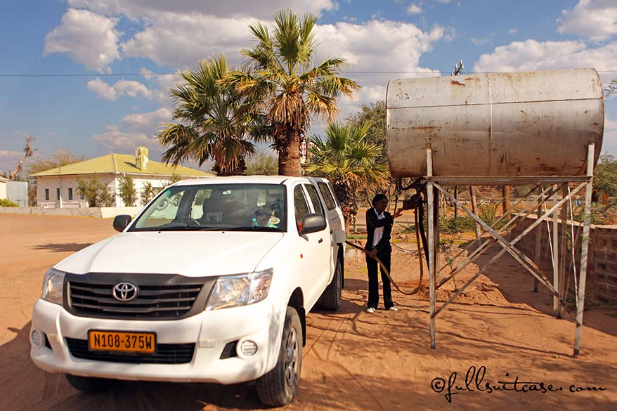 Namibia driving practical advice