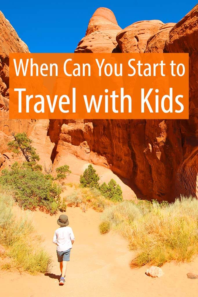 When can you start to travel with kids