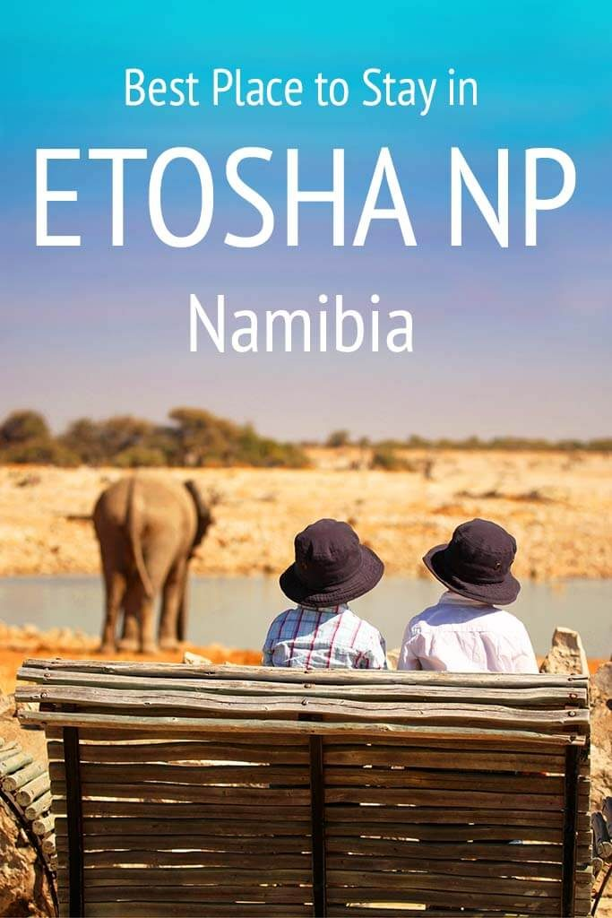 The best places to stay in Etosha National Park in Namibia. Don't book your Namibia trip without reading this first!