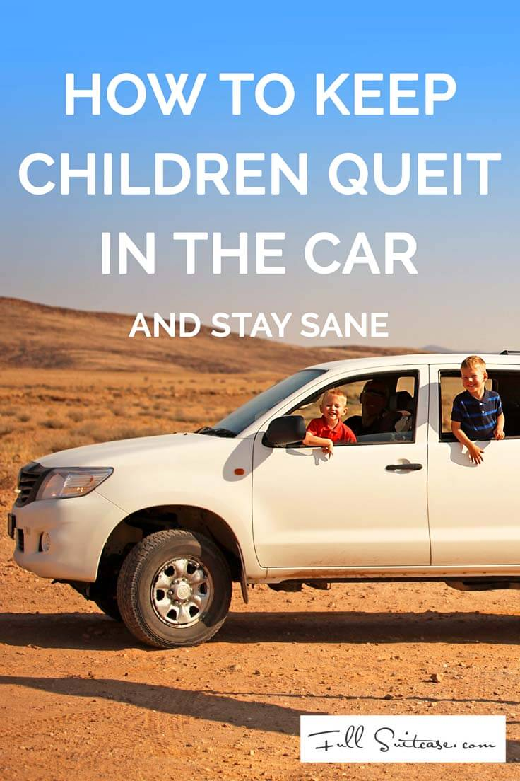 how to keep kids quiet in the car
