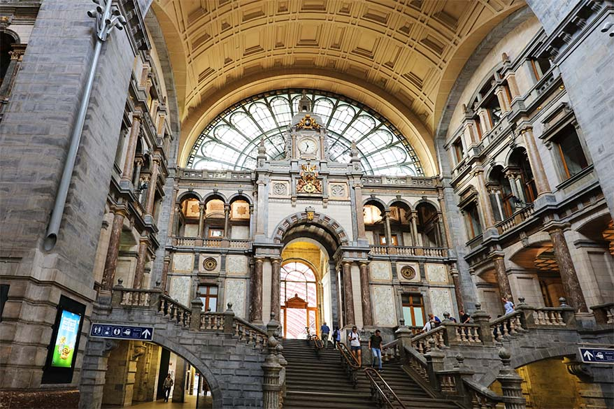 Antwerpen Centraal - one of the most beautiful train stations in the world
