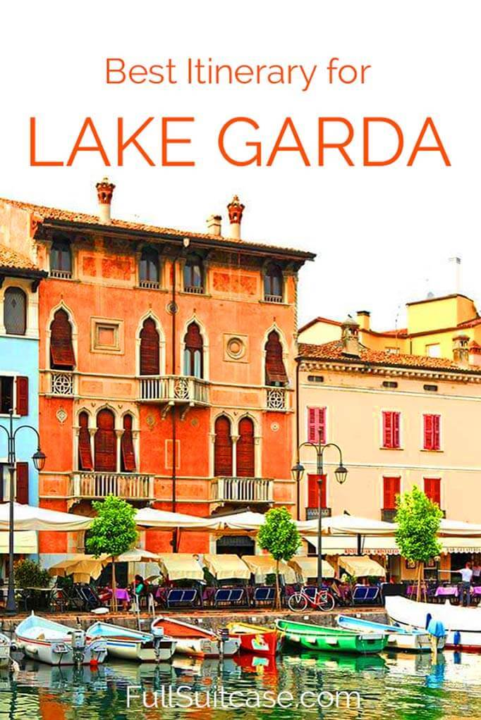 Best Lake Garda itinerary suggestions for one to three days