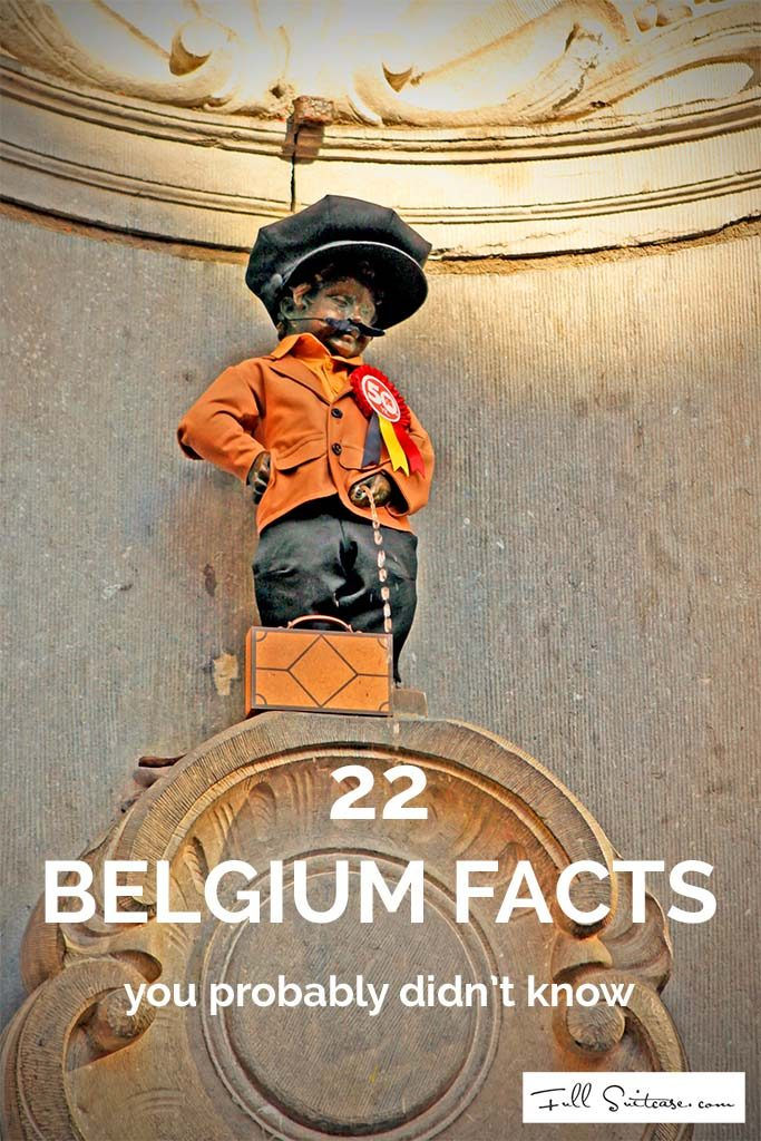 Fun and interesting facts about Belgium you might want to know before traveling