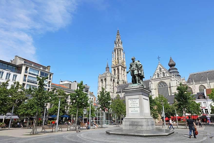 Groenplaats in Antwerp