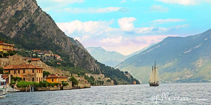 Northern part of Lake Garda