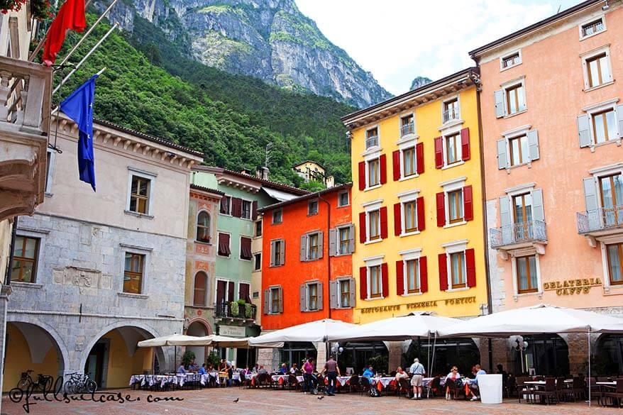 Riva del Garda on the North side of Lake Garda