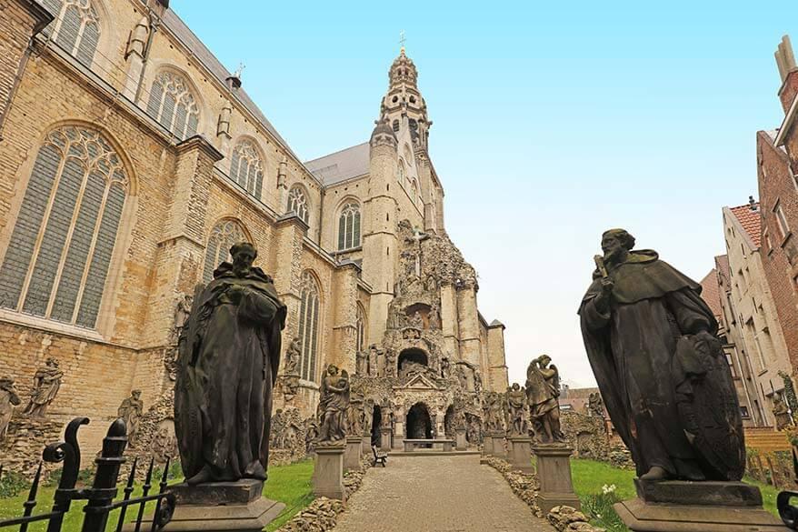 St. Paul's church in Antwerp