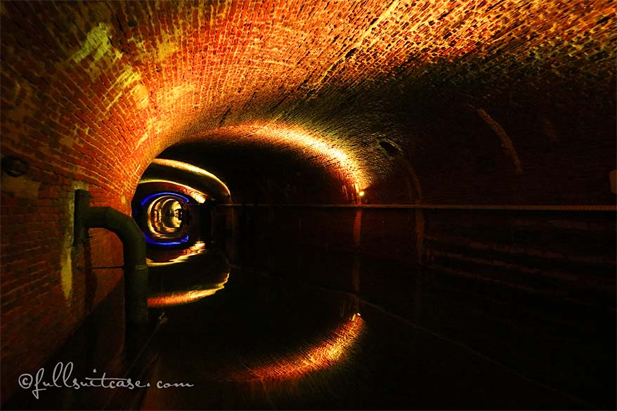 De Ruien canals and sewers Antwerp