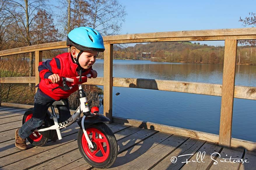 There are lots of family-friendly activities around Echternach Lake