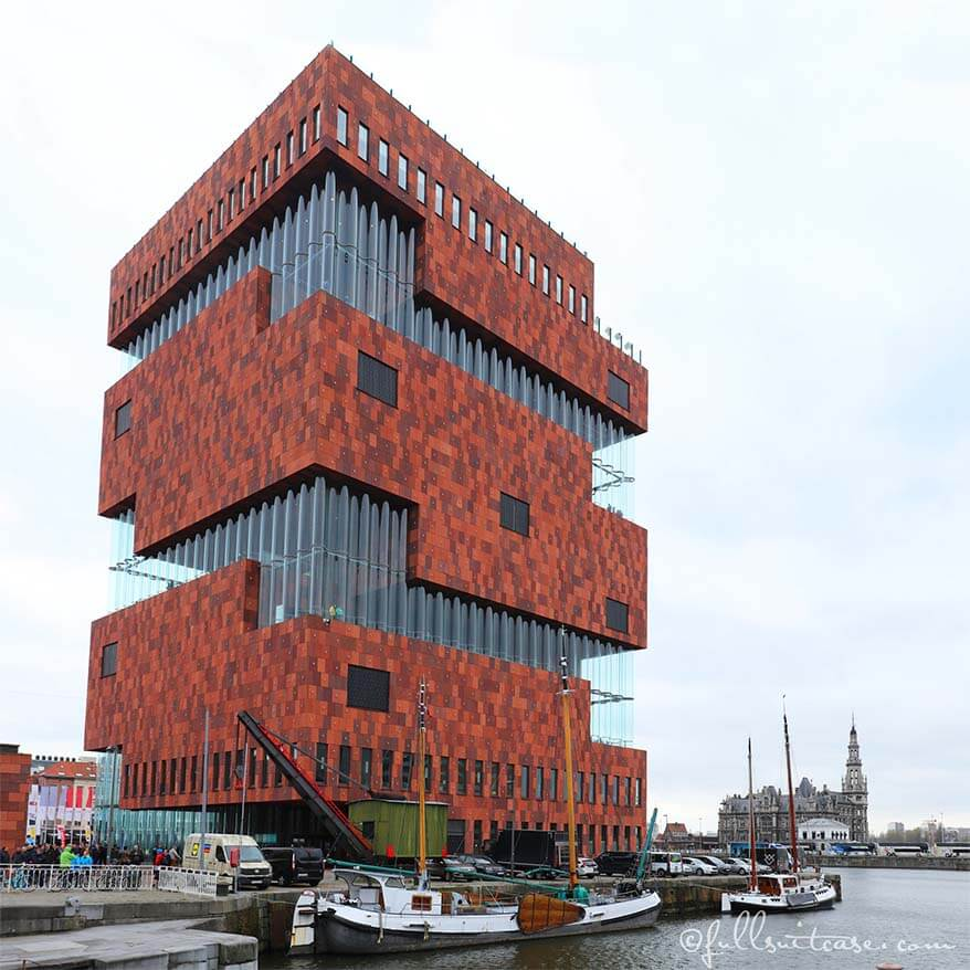 MAS - Museum aan de stroom Antwerp
