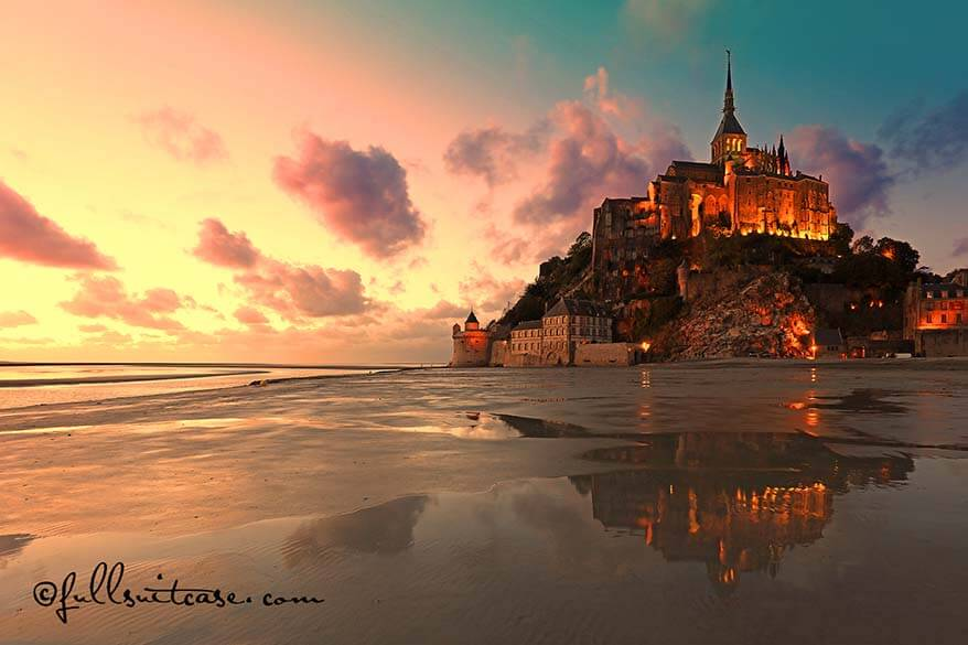 Mont Saint Michel practical information and travel tips