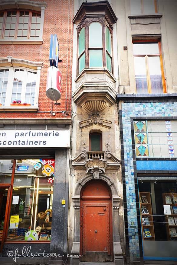 A very narrow house in Antwerp