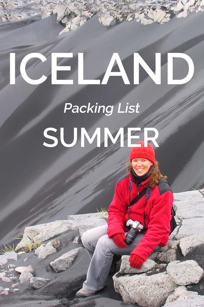 Complete Iceland packing list for summer