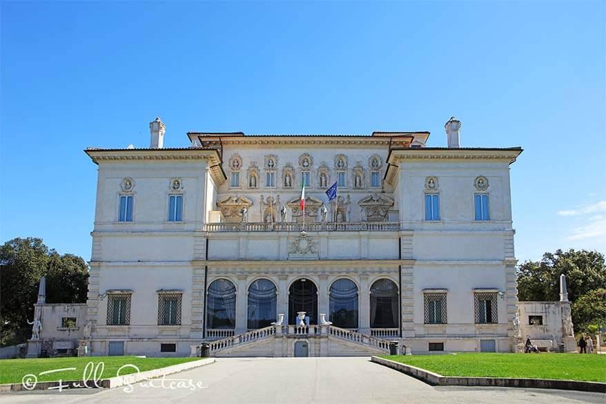 Villa Boghese Rome - Galleria Borghese