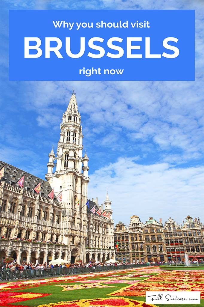 Why you should visit Brussels right now