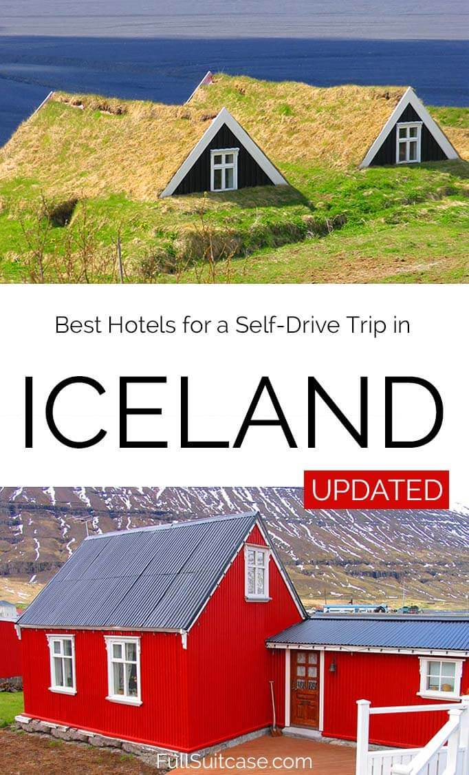 Best hotels in Iceland - plan your own self-drive trip (Updated!)