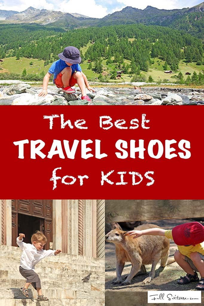 Best travel shoes for kids for any type of vacation