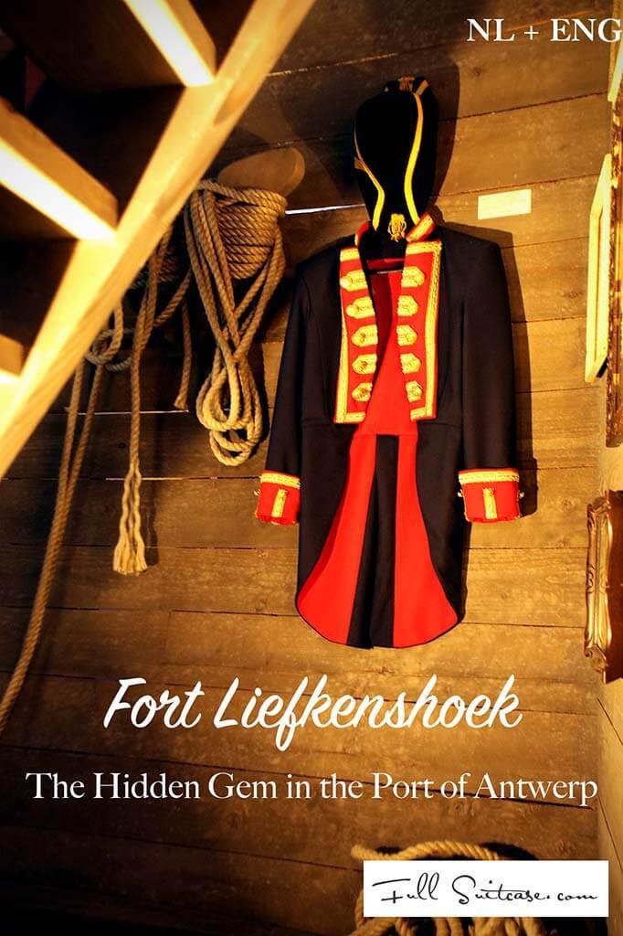 Fort Liefkenshoek in the harbour of Antwerp - post in Dutch and in English