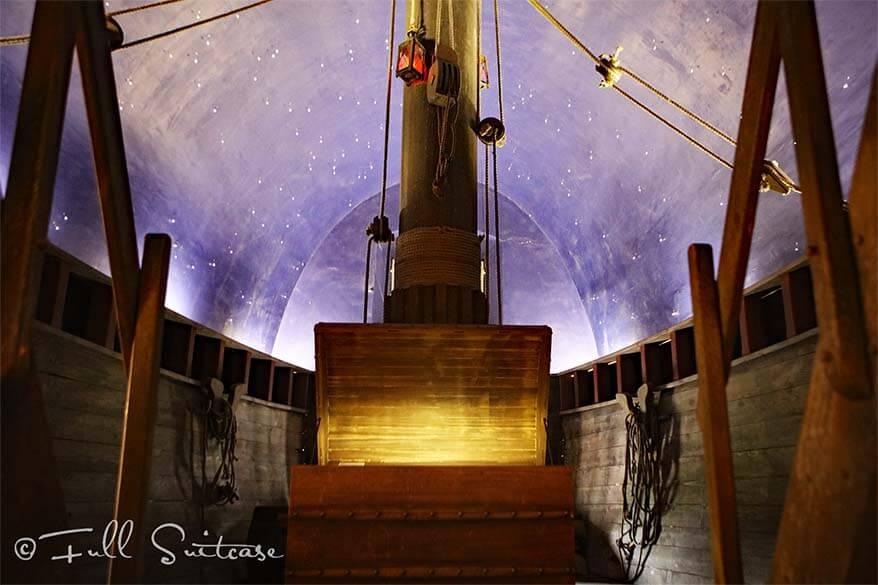 Fort Liefkenshoek museum - ship