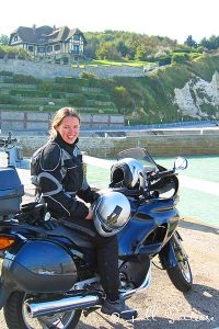 Motorbike trip in Normandy France