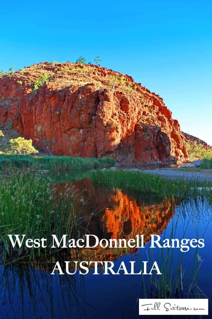 West MacDonnell Ranges itinerary with kids