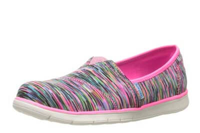 girls fashion sneakers for traveling