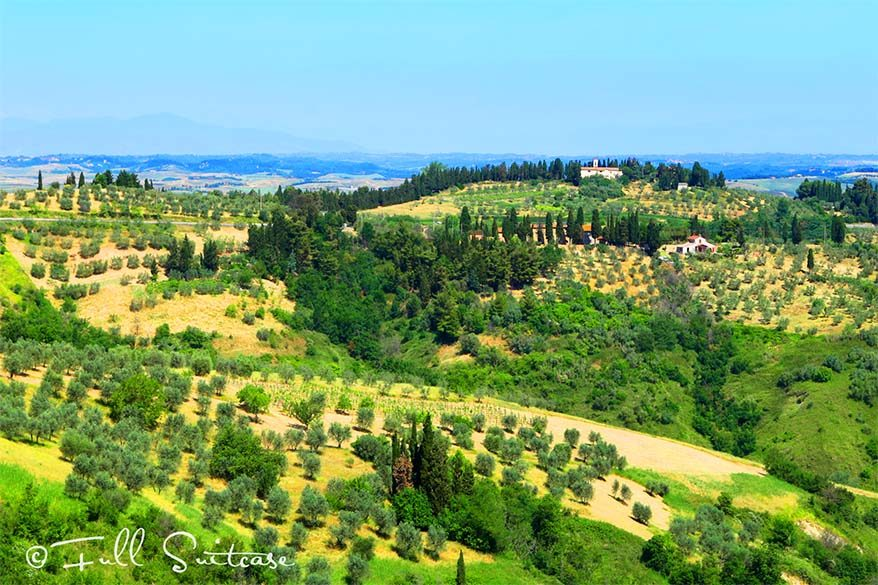 See the best of Tuscany in 7 days - one week trip itinerary through the most beautiful places of Tuscany region in Italy