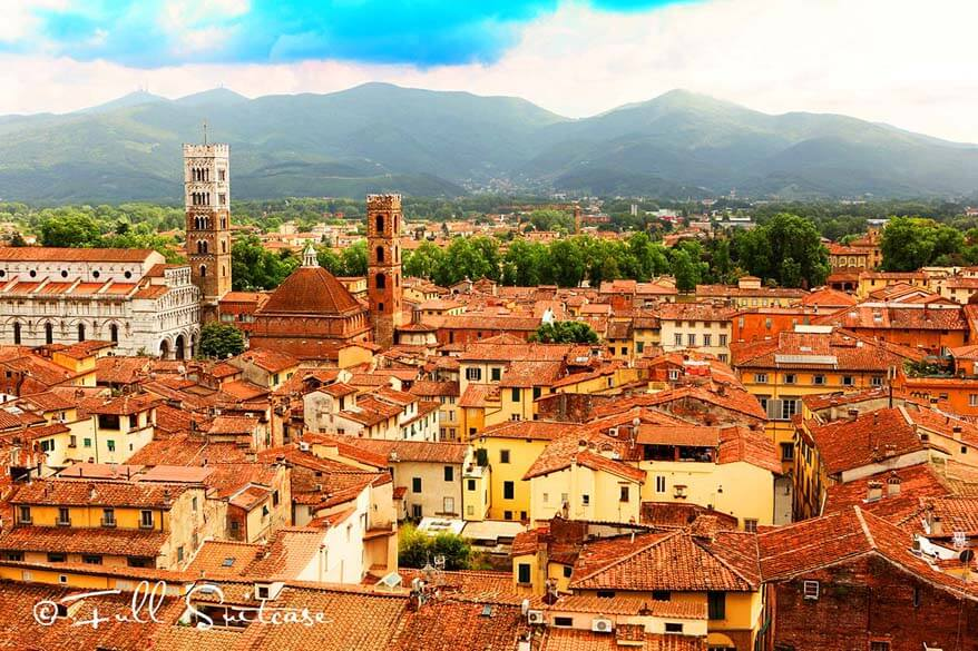 Lucca is one of the most beautiful towns of Tuscany in Italy