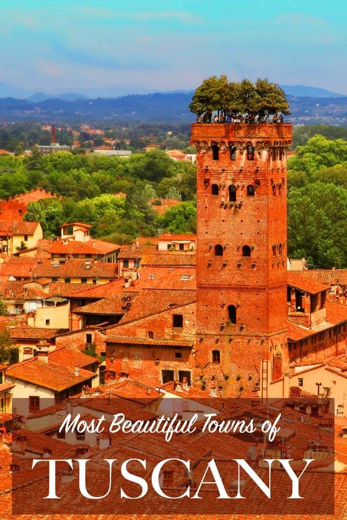 Best towns in Tuscany region in Italy