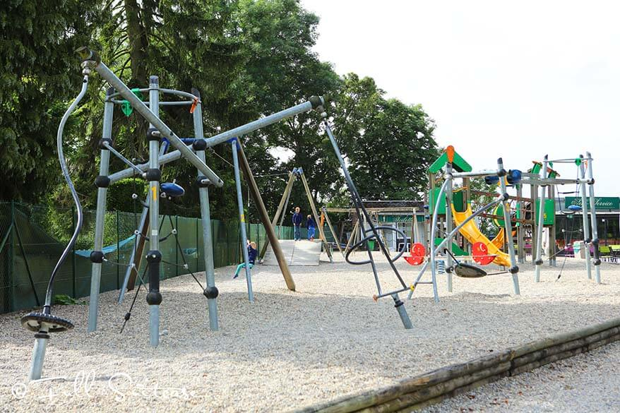 Playground at Citadel of Dinant
