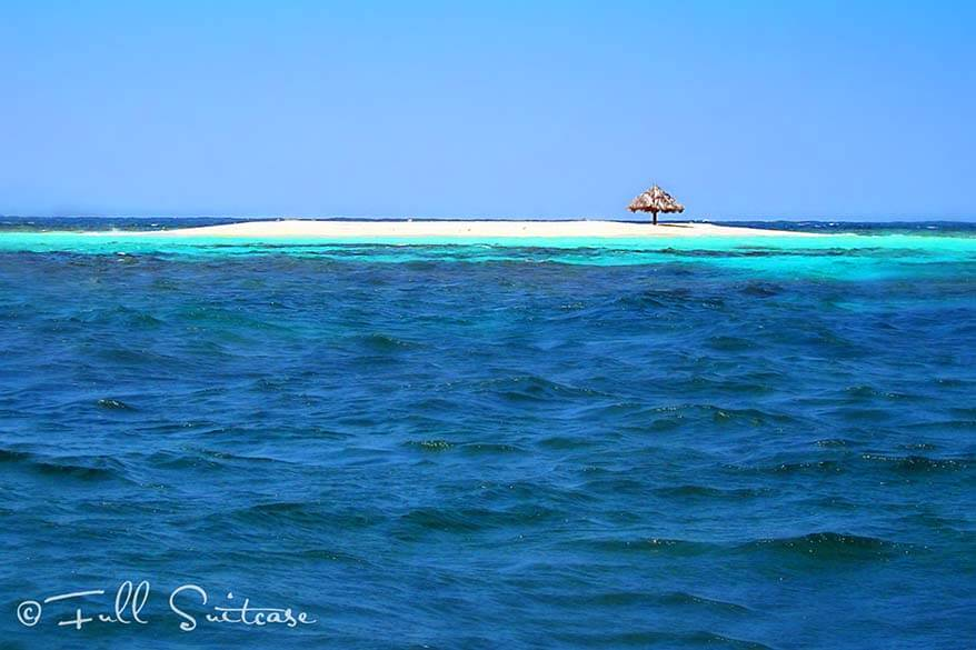 Tiny Mopion island near PSV in the Caribbean