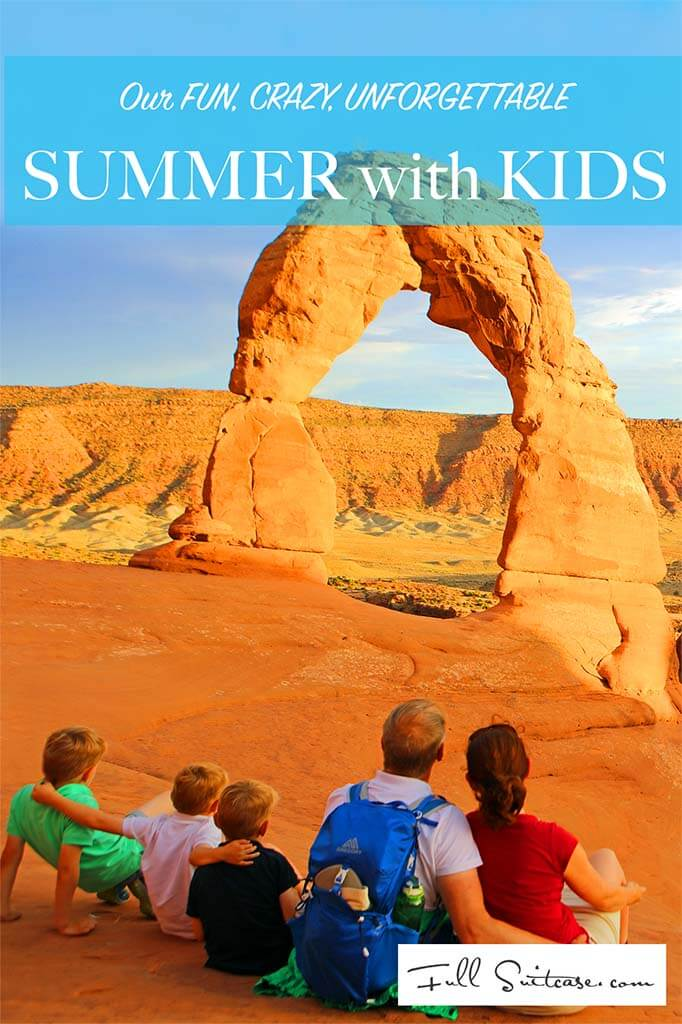Travel inspiration for a fun, crazy, unforgettable family summer vacation. 29 amazing pictures and short stories - check it out!