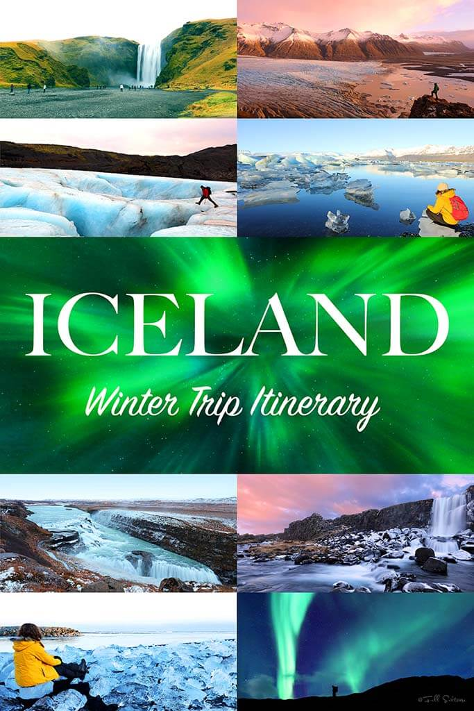 Most complete Iceland trip itinerary for winter months #iceland