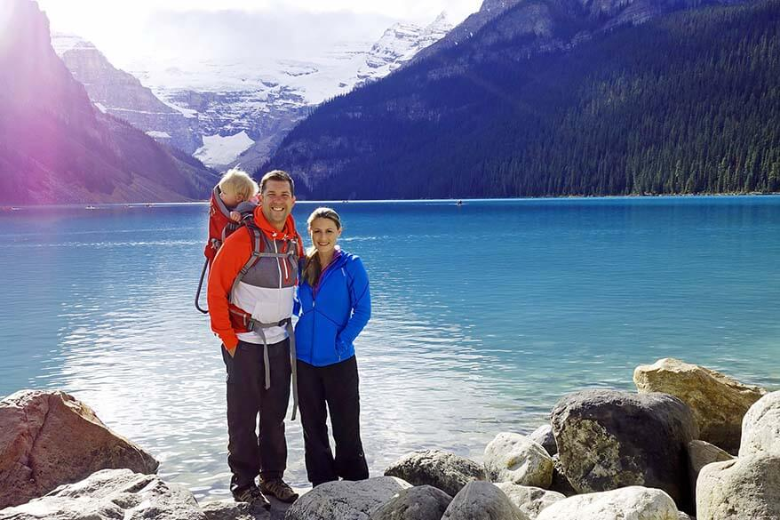 Canadian Rockies is a great family travel destiantion