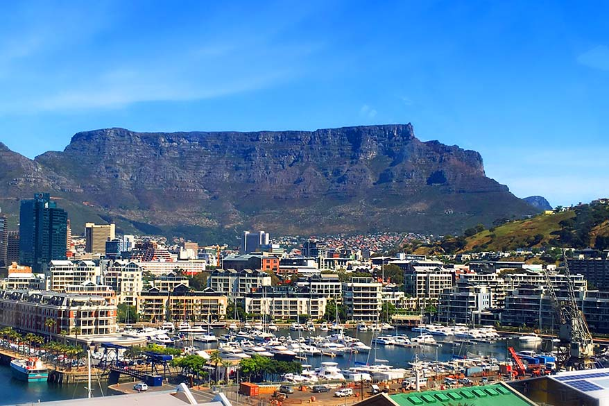 Cape Town in South Africa is one of the favourite family travel destinations