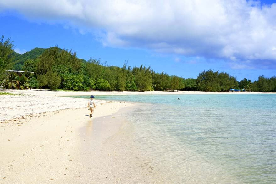 Family vacation on Cook Islands