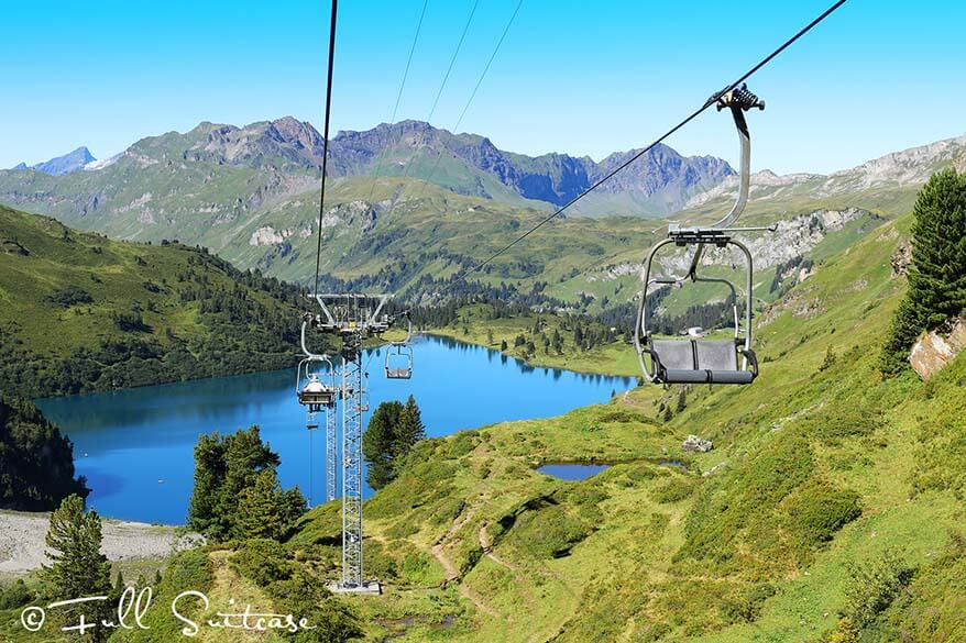 Engstlensee Lake in Engelberg Switzerland